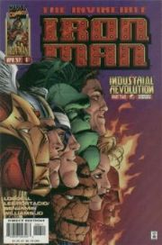 Iron Man #6 Volume 2 (1996 Series) Avengers Marvel Comics
